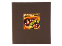 goldbuch Fotoalbum Natura cappuccino 20x22 cm