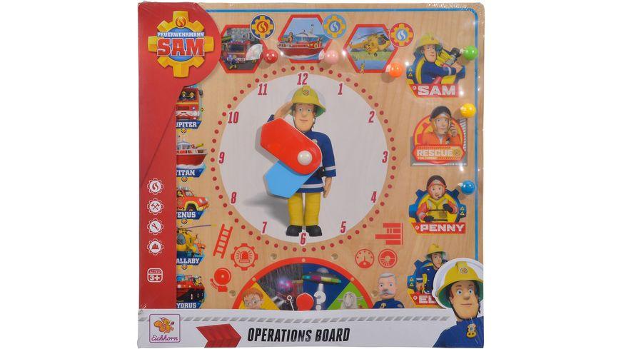 Eichhorn Feuerwehrmann Sam Einsatztafel