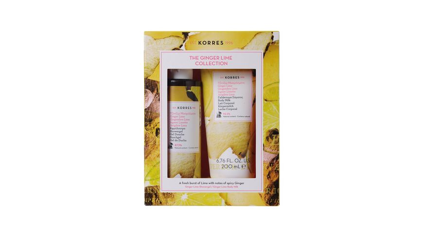 KORRES Ginger Lime Collection