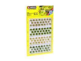 NOCH 07004 Grasbueschel XL beige gruen 92 Stueck 12 mm