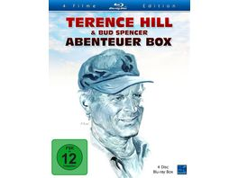 Terence Hill Bud Spencer Abenteuer Box Blu ray Special Edition Freibeuter der Meere Marschier oder stirb Zwei Faeuste fuer Miami Renegade 4 BRs