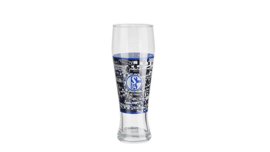 FC Schalke 04 Weizenbierglas