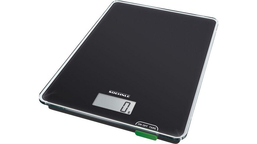 SOEHNLE Digitale Küchenwaage Page Compact 100