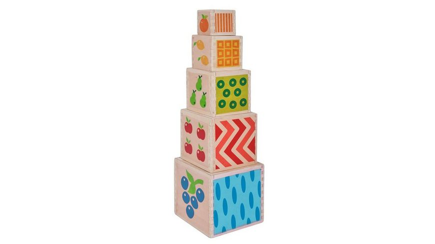 Eichhorn Color Steckturm 10 teilig
