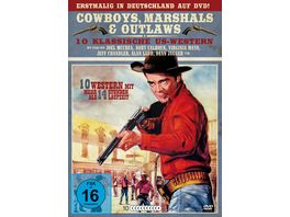 Cowboys Marshals Outlaws 10 klassische US Western 10 DVDs