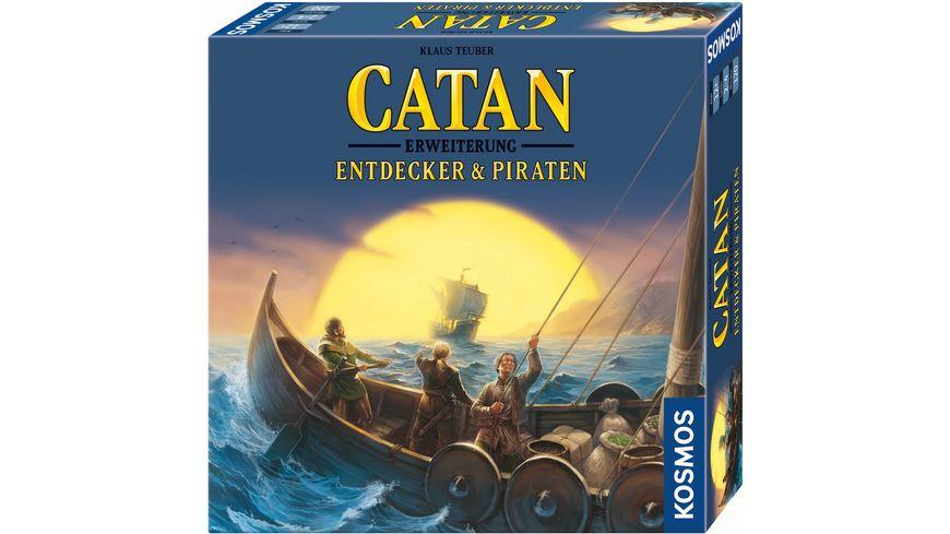 KOSMOS Catan Entdecker Piraten 3 4 Spieler