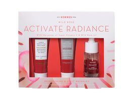 KORRES Wild Rose Brightening and First Wrinkles Mini Ritual Set