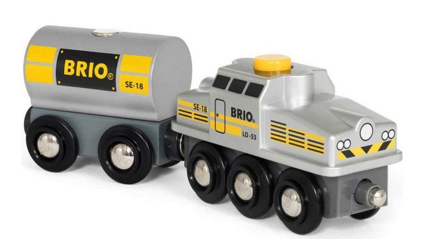 BRIO Bahn Silberner Frachtzug 2018