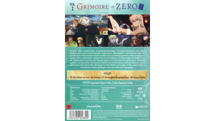 Grimoire of Zero Vol 2