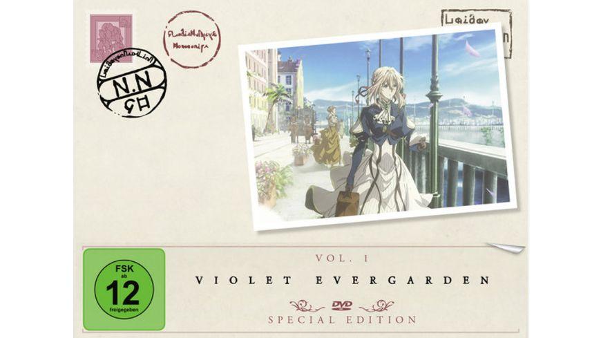 Violet Evergarden Staffel 1 Vol 1 Limited Special Edition