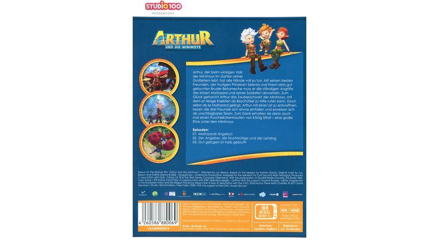 Arthur und die Minimoys DVD 1