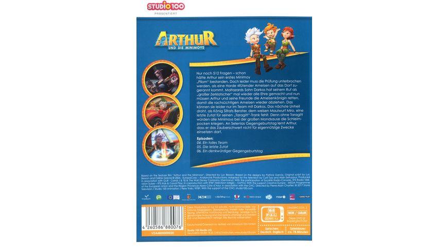 Arthur und die Minimoys DVD 2