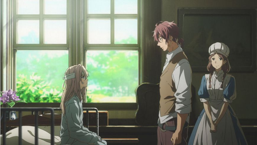 Violet Evergarden Staffel 1 Vol 1 Limited Special Edition