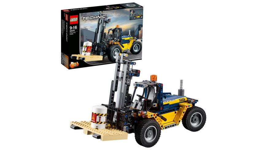 lego technic 42079 schwerlast gabelstapler online. Black Bedroom Furniture Sets. Home Design Ideas