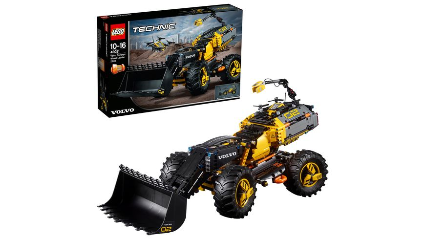 volvo bagger lego lego technic volvo konzept radlader. Black Bedroom Furniture Sets. Home Design Ideas