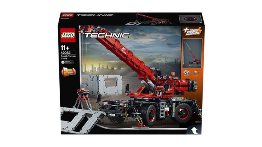 LEGO Technic 42082 Gelaendegaengiger Kranwagen
