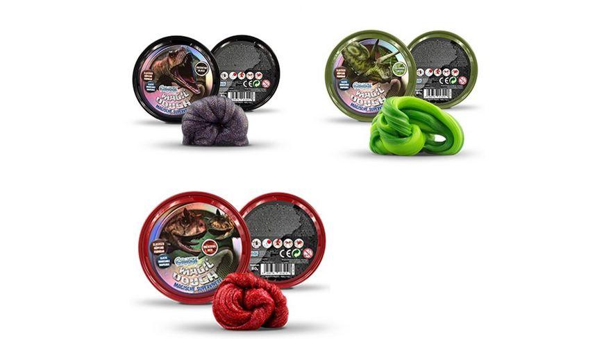 CRAZE Magic Dough Dinosaurier sortiert