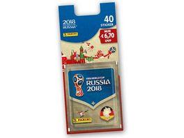 Panini FIFA World Cup Russia 2018 Blister 8 Tueten