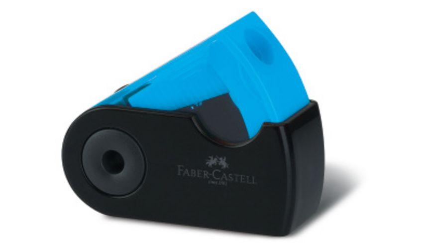 FABER CASTELL GRIP SPARKLE Schreibset blau schwarz