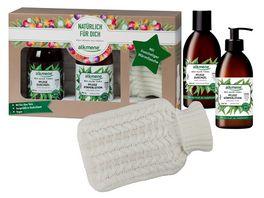 alkmene Kraft der Heilpflanzen Geschenkset Kuschel Waermflasche