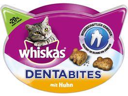 Whiskas Katzensnack Dentabites mit Huhn 48g