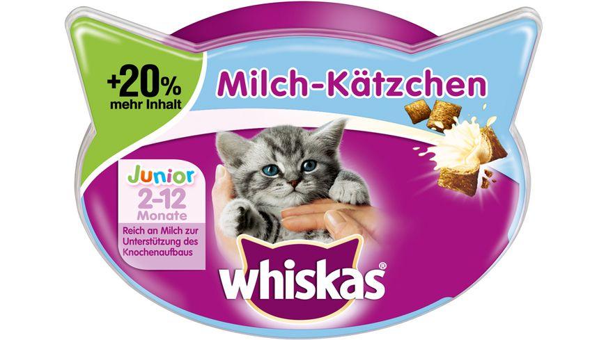 Whiskas Katzensnack Milchkaetzchen 66g