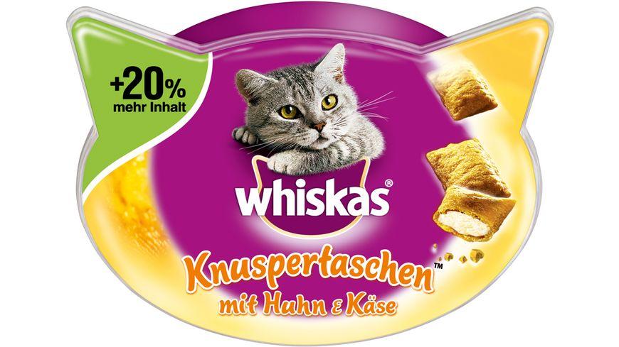 Whiskas Knuspertaschen Huhn Kaese 72g