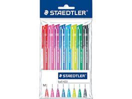 STAEDTLER Kugelschreiber ball 423 8er Pack