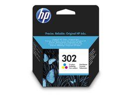 HP Druckerpatrone 302 3 Pack CMY