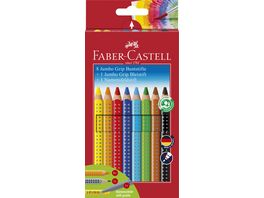 FABER CASTELL Farbstift Grip Color 8 1 1 Promoetui