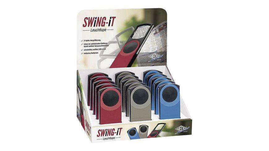 WEDO® Lupe Swing It inklusive Batterien