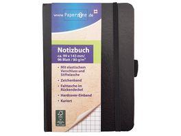 Paperzone Notizbuch A6 kariert