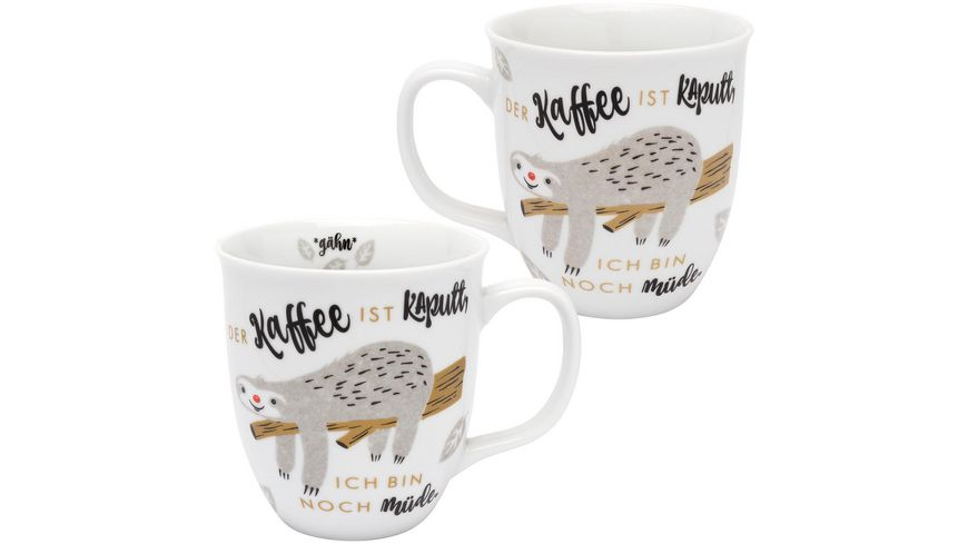H PPYlife Tasse Faultier