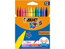 BIC Kids Plastidecor Buntstifte 12er Pack