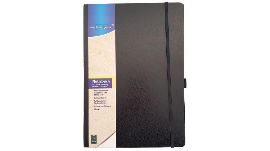 Paperzone Notizbuch A4 blanko