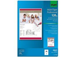 sigel Inkjet Papier IP182 A4 50Blatt