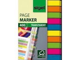 sigel Haftmarker Micro 5 Farben 50 x 6mm