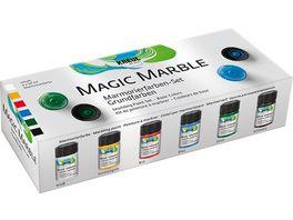 KREUL Magic Marble Marmorierfarben 6er Set Grundfarben