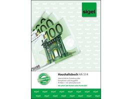 sigel Haushaltsbuch HA514 A5 40Blatt