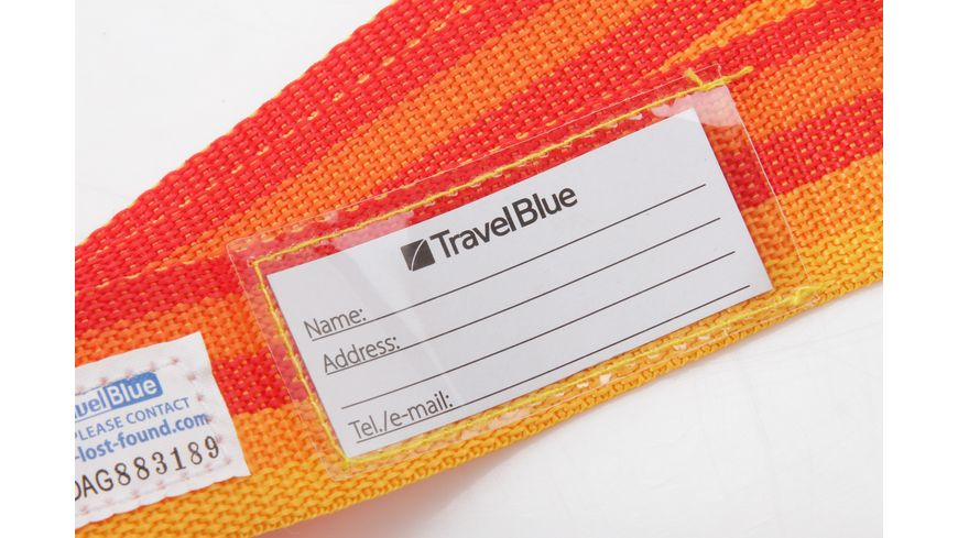 TravelBlue Sicherheits Kofferriemen