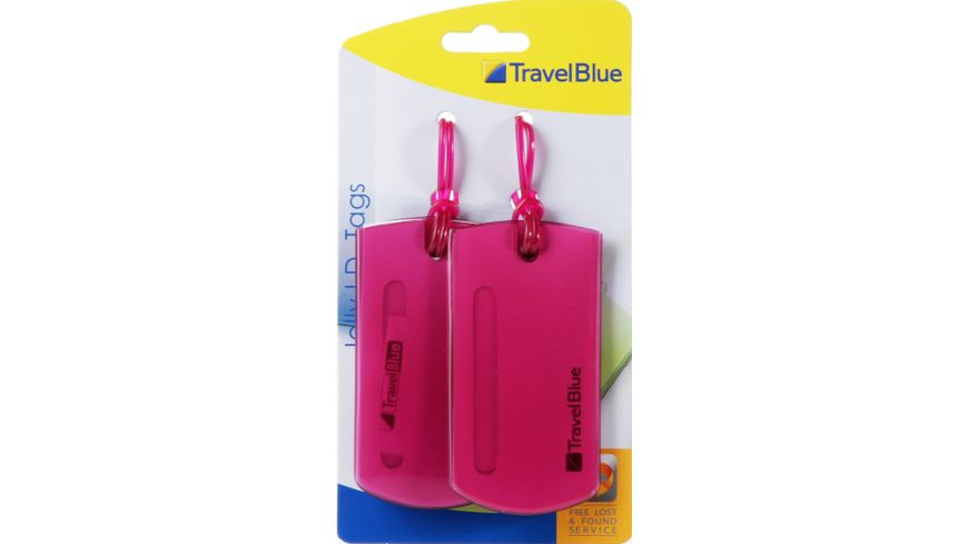 TravelBlue 2er Set Namensanhaenger