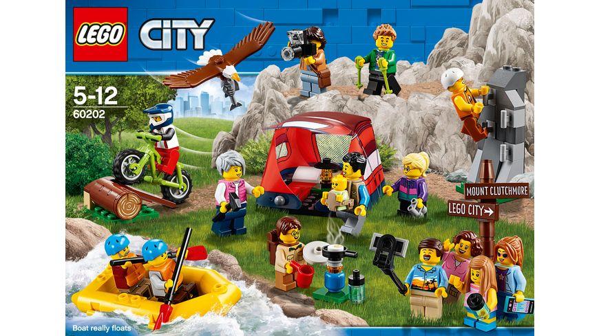 LEGO City 60202 Stadtbewohner Outdoor Abenteuer