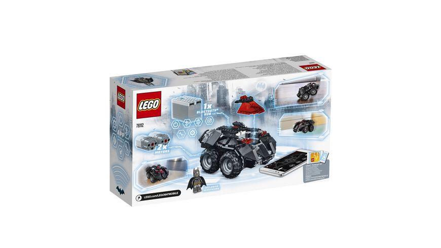 LEGO DC Comics Super Heroes 76112 App Gesteuertes Batmobile