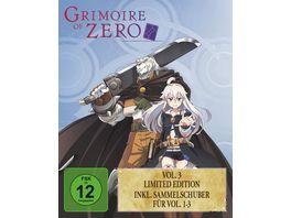 Grimoire of Zero Vol 3 Limited Edition Sammelschuber