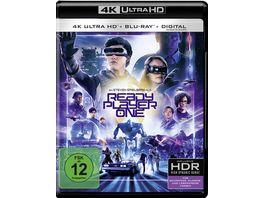 Ready Player One 4K Ultra HD Blu ray 2D
