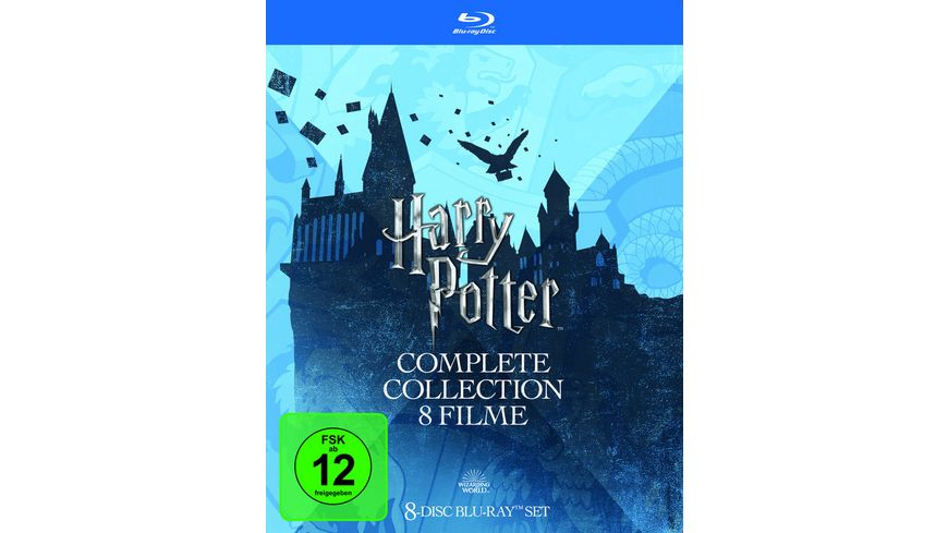 Harry Potter Collection 8 BRs