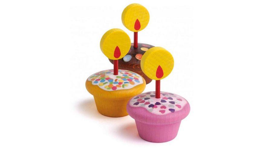 Erzi Geburtstagsmuffins aus Holz