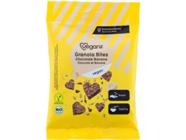 BIO Veganz Granola Bites Chocolate Banana