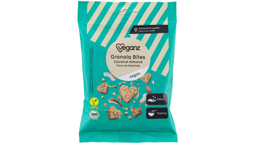 BIO Veganz Granola Bites Coconut Almond
