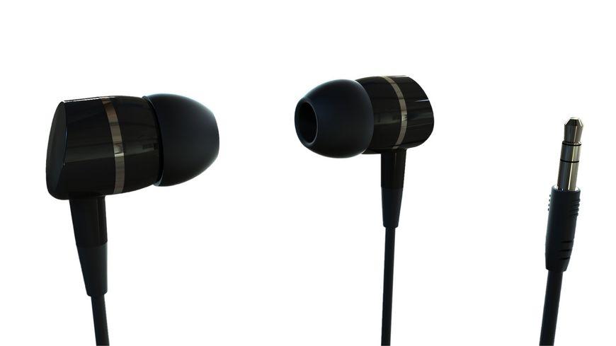 VIVANCO SOLIDSOUND BLACK OHRHOERER IN EAR